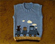 modele me grep per femije, kemisha, jeleka me grep, gjampera me grep Baby Hoodie, Baby Boy Cardigan, Baby Knitting Patterns, Hand Knitting, Knit Baby Sweaters, Knitted Baby, Model Hobbies, Vest Pattern, Moda Emo