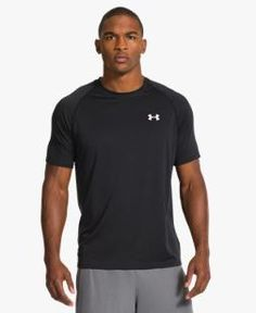 Men's UA Tech™ Short Sleeve T-Shirt blk or white