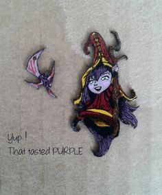 Lulu - the Fae Sorceress - League of Legends Champion - Pair of earrings