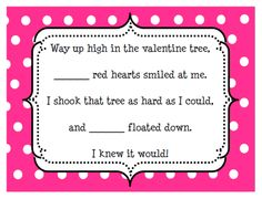 Kristen's Kindergarten   www.kpoindexter.wordpress.com  Valentine's Day subtraction practice FREEBIE :)