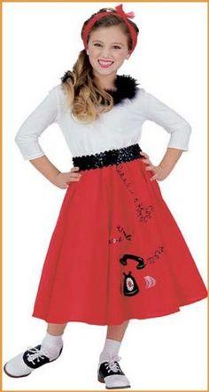Jitterbug Girl Children's Halloween Costumes « Clothing Impulse