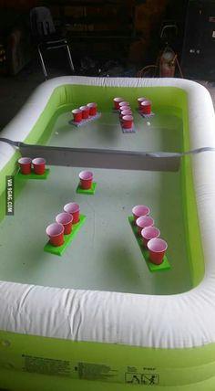 Battleship beer pong More