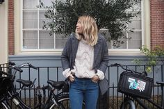 Lindsey from @ropesofholland is taking over our Instagram - sharing her outfits from a recent trip to Amsterdam!  Coat ref. 350024385 Jumper ref. 350022610 Jeans ref. 350020801