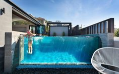Pool Windows - Acrylic pool viewing installations for residential or commercial applications Australia wide. Small Backyard Pools, Backyard Pool Designs, Indoor Pools, Outdoor Pool, Swimming Pool House, Swimming Pool Designs, Best Above Ground Pool, In Ground Pools, Pool Spa
