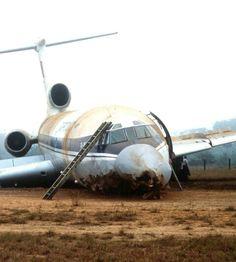 Tu-154C cargo aircraft from Soviet national airline Aeroflot