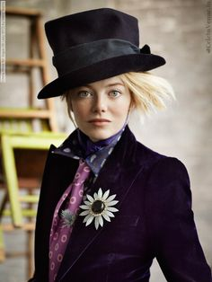 Emma Stone, por Mario Testino, 2012