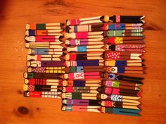 Clothespin Dolls - I made these when I was a kid.