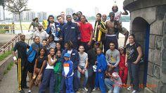 De club van Monteiro Gym bij de koepels