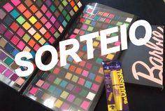 SORTEIO (Paleta Fenzza 224 cores e Máscara The Colossal Maybelline )por ...