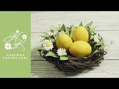 Пасхальные сувериры из фоамирана   2 идеи сувениров к Пасхе   Верба из фоамирана - YouTube
