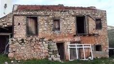 Abandoned Old House Window | Abandoned Old House With Wooden Windows And Doors Stock Footage Video ...