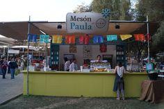Paula Gourmet , en Parque Araucano , Santiago-Chile Octubre 2013