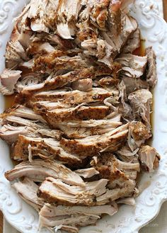 Crock Pot Balsamic Pork Roast | Skinnytaste. We were just talking about this exact recipe yesterday! Must mean I should try it.