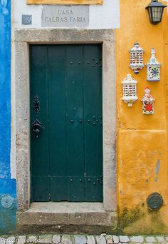 47 by Paulo Heuser, via Flickr ~ Óbidos, Leiria, Portugal