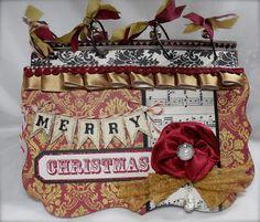Crafting with Class: Handmade Christmas Album