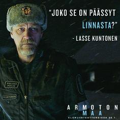 ARMOTON MAA elokuvateattereissa 20.1.         @nordiskfilmfinland