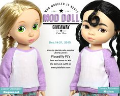 Mod Doll Giveaway! Win a Disney Animator Doll and this adorable Piccadilly Pj's Outfit from Liberty Jane - Enter at Pixie Faire http://www.pixiefaire.com/blogs/freebies-and-giveaways/70984261-mod-doll-giveaway-dec-14-21-who-models-it-best