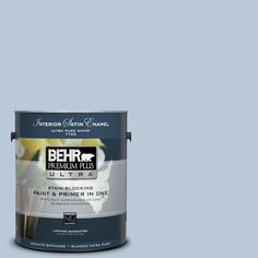 BEHR Premium Plus Ultra 1-gal. #S520-2 Journey's End Satin Enamel Interior Paint