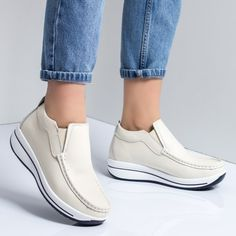 Pantofi dama piele naturala bej Catrina -rl Vans Classic Slip On, New Balance, Loafers, Sneakers, Casual, Sports, Fashion, Travel Shoes, Tennis