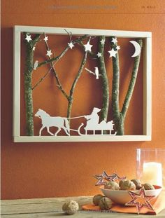 12 crazy wooden creations to make your house nice and cozy! – DIY bast … n*** n*** 12 crazy wooden creations to make your house nice and cozy! – DIY craft ideas – ideas 12 crazy wooden creations to make your house nice and cozy! Christmas Makes, Noel Christmas, Winter Christmas, All Things Christmas, Christmas Ornaments, Christmas Projects, Holiday Crafts, Winter Szenen, Christmas Shadow Boxes