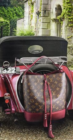 Louis Vuitton (It's the car I'd take, thank you very much.)