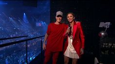 Justin Bieber and Ruby Rose twinning (again) at the EMAs