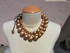 gold baubles necklace by ...love Maegan, via Flickr