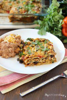 Tex-Mex Enchilada Casserole Recipe on Yummly. @yummly #recipe