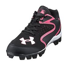 Under Armour Clean Up Baseball Cleat for Kid (1 Youth, Black/Pink shoe. Available while supplies last!  http://www.amazon.com/dp/B01CLREPF0/ref=cm_sw_r_pi_dp_sZNhxb181JEEY