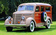 1938 International C-1 Woody Wagon