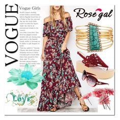 """Vogue#Girl#Rosegal"" by bamra ❤ liked on Polyvore"
