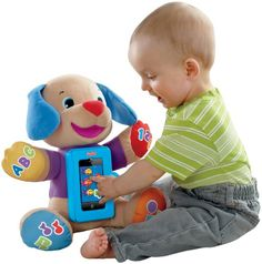 Fisher-Price Laugh and Learn Smart Stages Puppy - Fisher-Price Laugh and Learn Apptivity Puppy *** Visit the picture web link more information. (This is an affiliate link). #christmasgames