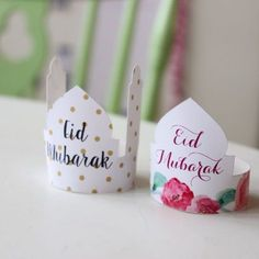 Preparing some crafts, gifts or cakes for Eid Free printable Eid gift tags and cake toppers  ♥