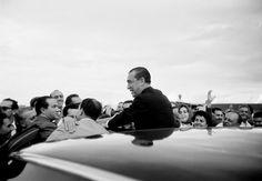 Juscelino Kubistchek no dia da inauguração de Brasília – 21 de abril de 1960. (Thomaz Farkas/Acervo Instituto Moreira Salles)