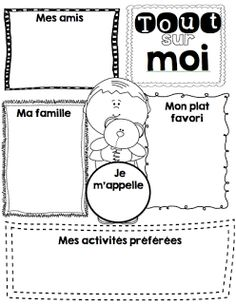 Le cahier de Pénélope: Mes ateliers d'écriture School Plan, 1st Day Of School, Beginning Of School, First Day Activities, French Worksheets, Primary Science, Core French, French Classroom, Kindergarten First Day