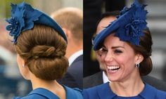 Kate's most glamorous updos perfect for the party season - Photo 1