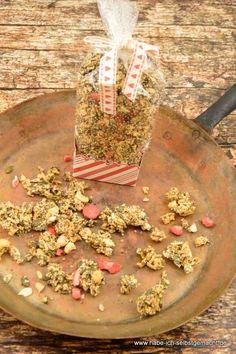 Low Carb Granola mit Chiasamen