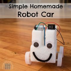 Full, step-by-step, picture tutorial for making an easy, fun, drawing robot. A great first robotics projects for kids of all ages. Robotics Club, Robotics Engineering, Robotics Projects, Engineering Projects, Electrical Engineering, Chemical Engineering, Electrical Projects, Physics Projects, Science Projects For Kids