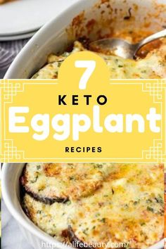 For More Great Recipes Like This One Visit The Foodie Eats Low Carb Dinner Recipes, Keto Dinner, Paleo Recipes, Meal Recipes, Keto Eggplant Recipe, Eggplant Recipes, Cabbage Vegetable, Vegetable Sides, Low Carb Zucchini Fries
