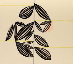 """Clare E. Rojas (American, b. Untitled, Oil on linen, 15 × 17 in. Clare Rojas, Rose Art Museum, Artist Cv, Framed Tv, Walker Art, Whitney Museum, Art Institute Of Chicago, American Art, Contemporary Art"