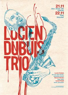 Lucien Dubuis Trio - gig poster