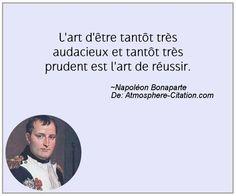 Citation de Napoléon Bonaparte - Proverbes Populaires