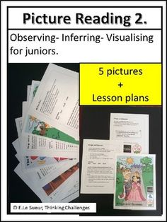 Picture Reading Practice Picture Reading Strategies that work. Picture reading making inferences. Reading activities for grade. Using pictures to make inferences. Visual Literacy, Math Literacy, Literacy Centers, Reading Strategies, Reading Activities, Classroom Activities, Classroom Pictures, Visualising, Making Inferences