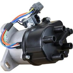 AIP Electronics DTD44 Ignition Distributor for Complete B16A B18C Dohc Vtec OBD1 B16A2 OEM Fit, As Shown