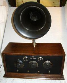 Magnavox Horn Type R3 Loudspeaker Telemegafone 1923 On