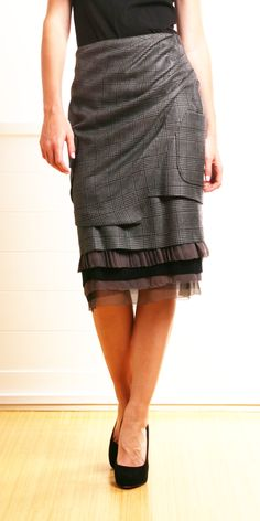 I like this skirt it's different