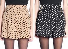 El Espejo De La Moda: Copy - Paste: Pollera Pantalon de Complot By Calu