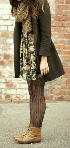 So cute 2019 So cute The post So cute 2019 appeared first on Sweaters ideas. Source by romanticheroine dress with tights fall outfits Looks Street Style, Looks Style, Mode Outfits, Fall Outfits, Skirt Outfits, Fashion Outfits, Under Dress, Dress Up, Look Fashion