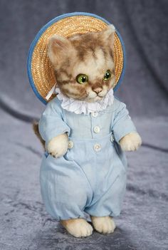 "11"" American mohair ""Tom Kitten"" from the Beatrix Potter Collection by R John Wright 700/900"