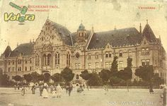 Kecskemét Hungary, Old Photos, Barcelona Cathedral, Taj Mahal, Louvre, Building, Old Pictures, Vintage Photos, Buildings